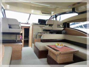 Яхта Azimut 47 салон