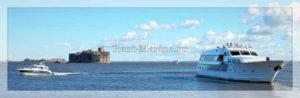 яхта Broward Кронштадт