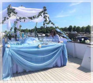 яхта Broward свадьба