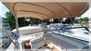 яхта Carver 32 палуба