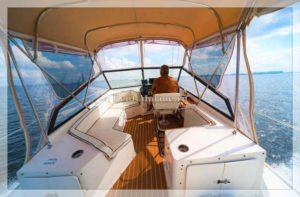 яхта Carver 32 пункт управления