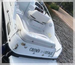 катер Crownline 275 корма