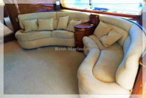 яхта Elegance 65 салон