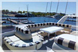 яхта Elegance 65 палуба