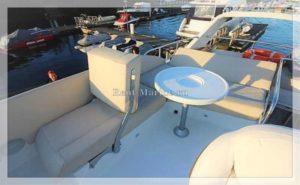 яхта Galeon 380 палуба