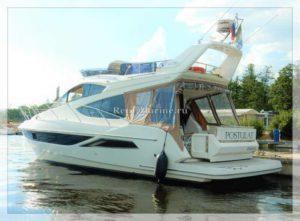 яхта Galeon 380 корма