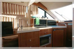 яхта Galeon 380 кухня