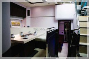 яхта Galeon 640 кухня