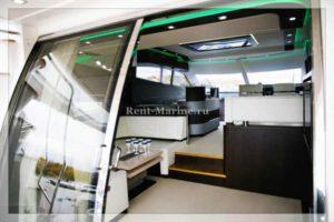 яхта Galeon 640 зал