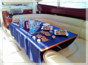 Яхта Jeanneau Prestige салон