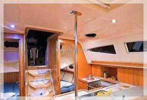 Яхта Mery салон