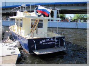 яхта Nordic Blues корма