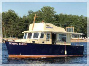 яхта Nordic Blues
