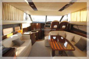 Яхта Принцесса 42 салон