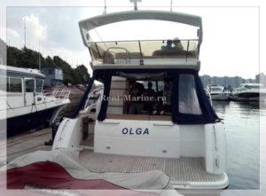 Яхта Принцесса 42 корма