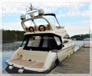 Яхта Princess 50 корма