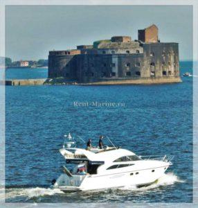 Яхта Princess 50 форт