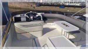 Яхта Принцесса 50 палуба