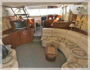 Яхта Princess 60 салон