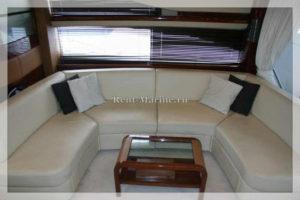 яхта Princess 67 диван