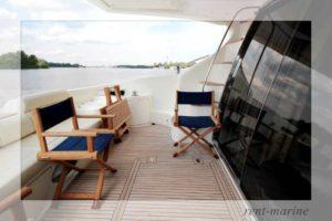 Яхта Azimut 55 палуба