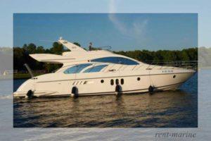 Яхта Azimut 55