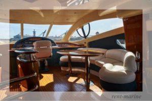 Яхта Azimut 55 салон