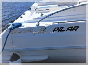 катер Pilar Fiart 32 шильдик