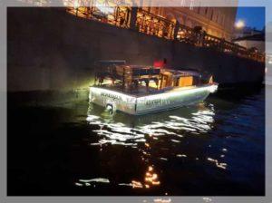 катер Венеция подсветка